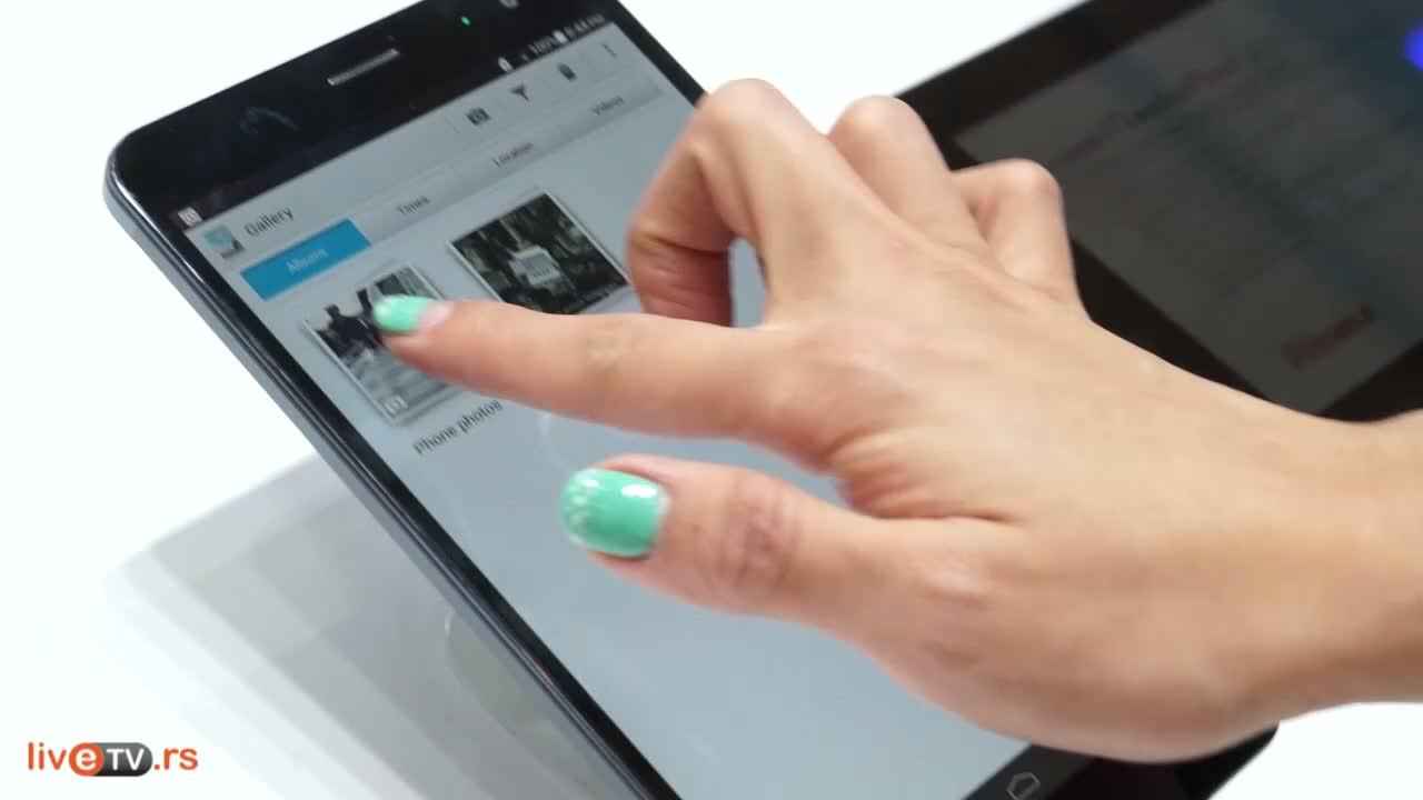 Huawei predstavio fablet X1 i hibridni TalkBand