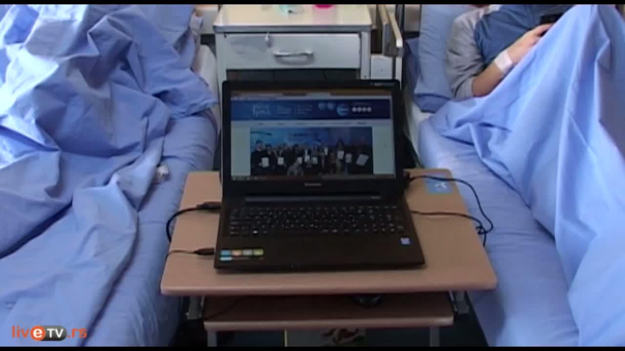 Računari i besplatan pristup internetu za dečje odeljenje Instituta za ortopedsko-hiruške bolesti