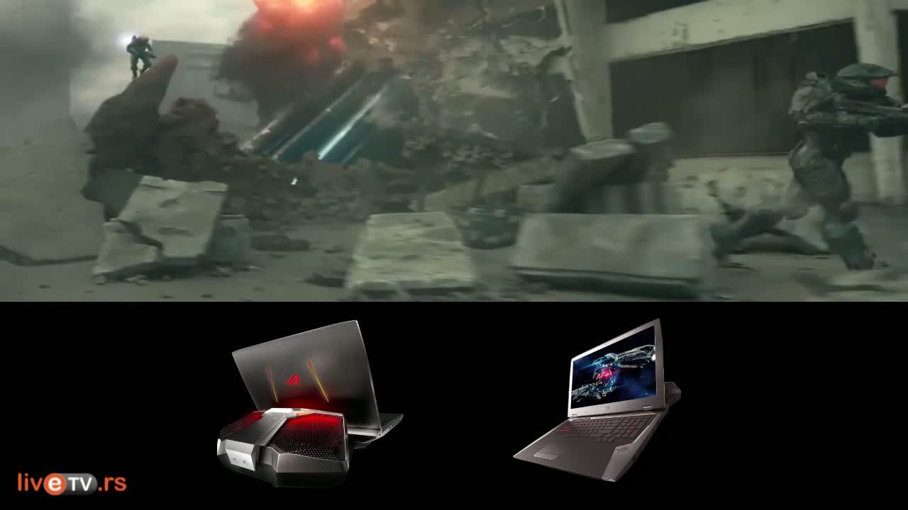 Asus ROG GX700 - laptop za najzahtevnije gejmere