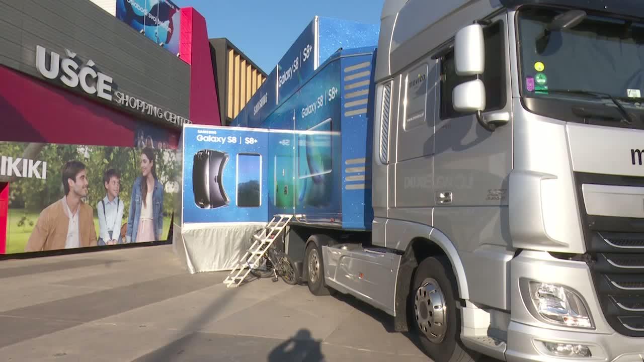 Samsung karavan u Beogradu i Novom Sadu