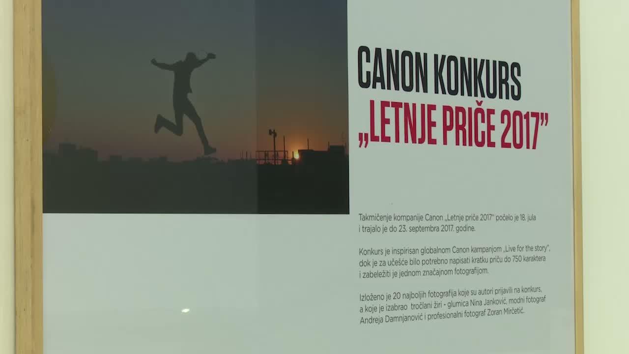 """Canon proglasio pobednika konkursa """"Letnje priče 2017"""""""