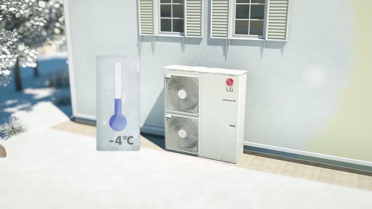 Toplotne pumpe vazduh/voda postaju budućnost HVAC industrije