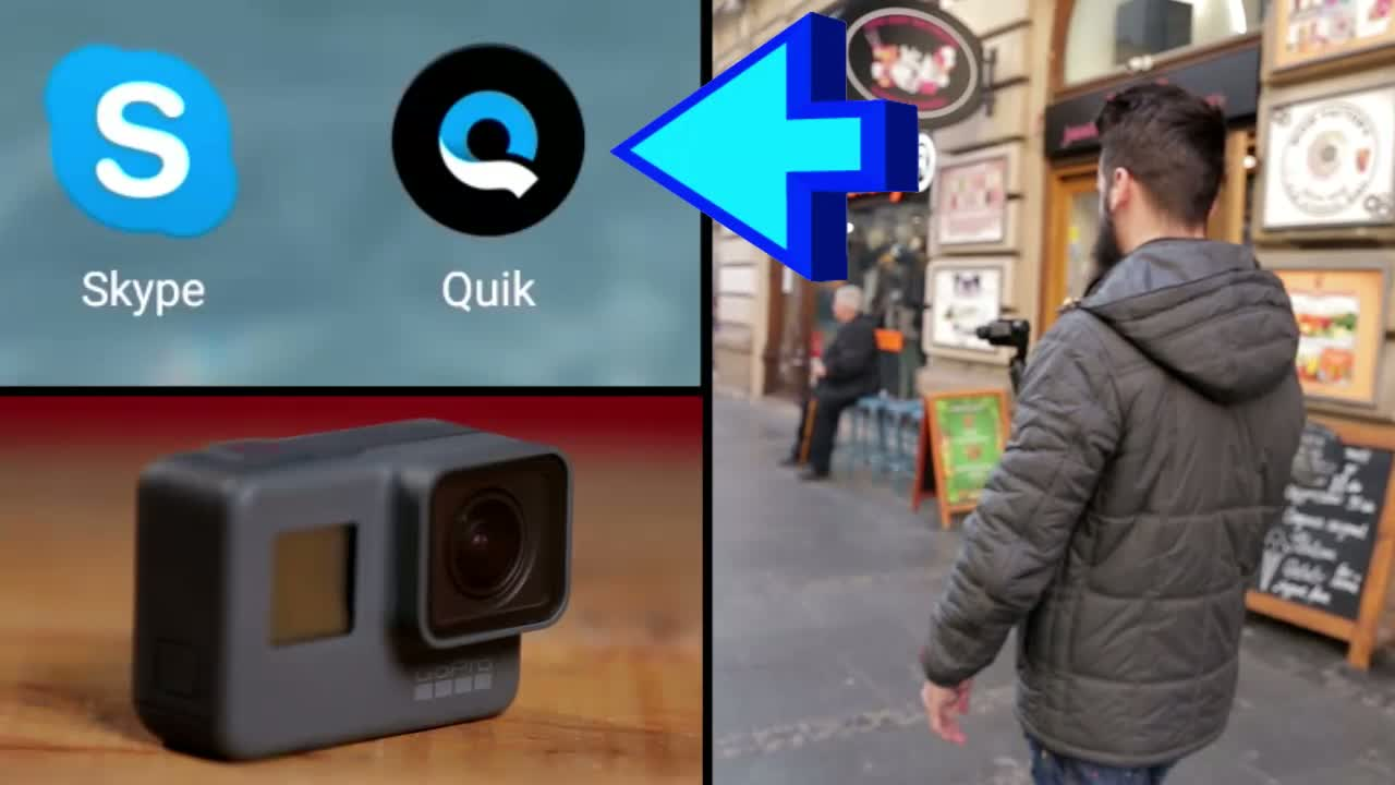 QUIK aplikacija - najbolji saradnik vaše Go Pro kamere