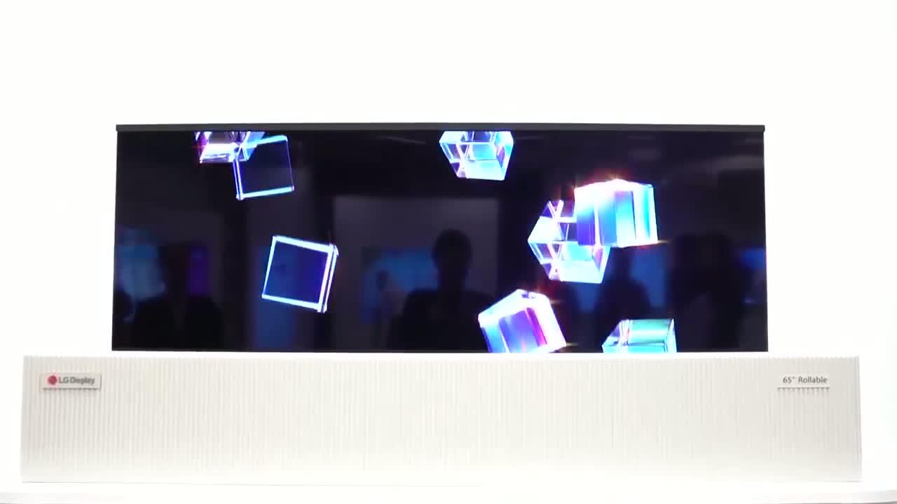 LG Rollable TV osvojio najviše simpatija na CES sajmu u Las Vegasu